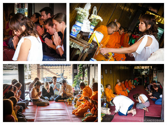 Beginning of the Monk Blessing Ceremony