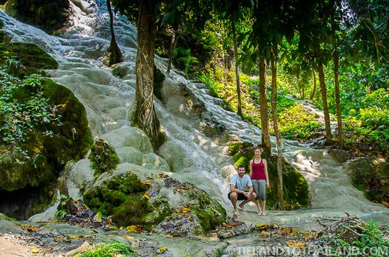 Sticky Waterfalls in Chiang Mai, aka Buatong Water Falls