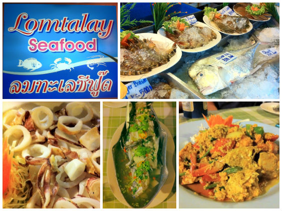 Lom Talay Seafood in Koh Chang, Thailand