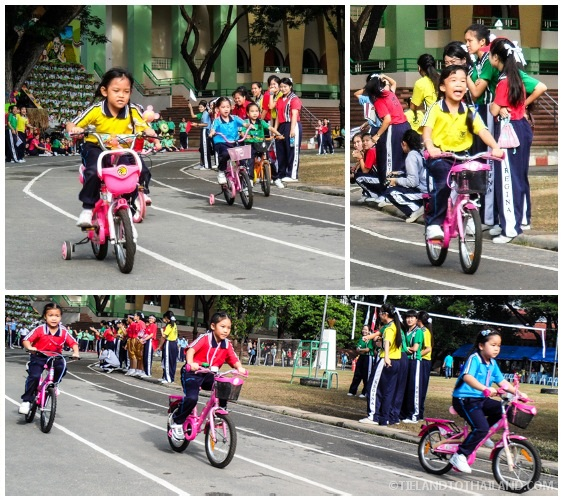 Thai School Sports Day: Bike and Tricycle Races