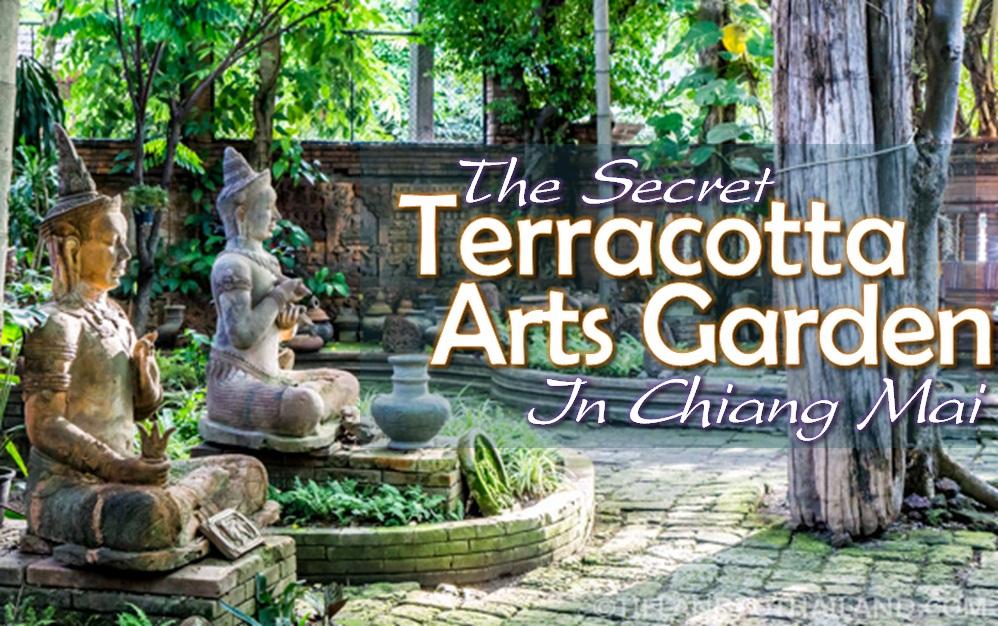 Secret Terracotta Arts Garden Chiang Mai Thailand