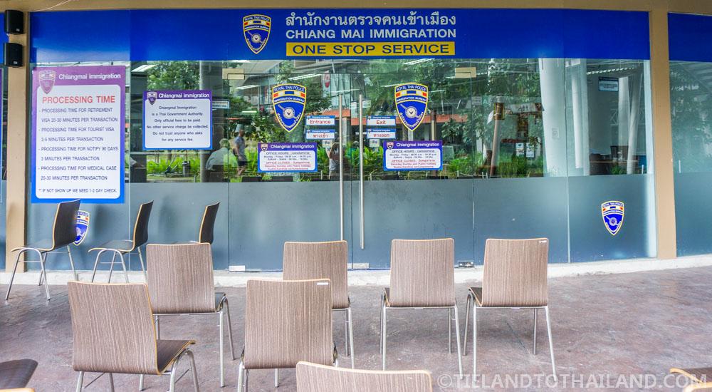 Chiang Mai Immigration Office Promenada
