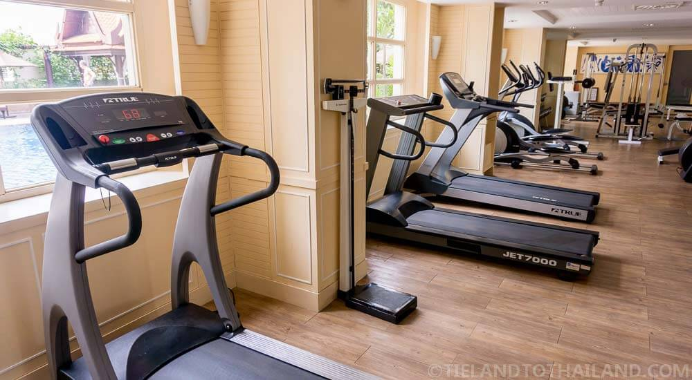Fully-equipped gym at The Sukosol, perfect if this is your first trip to Bangkok.