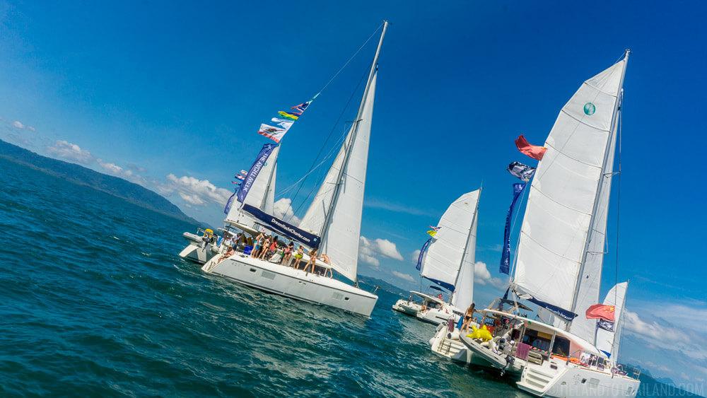 The Yacht Week Thailand Regatta