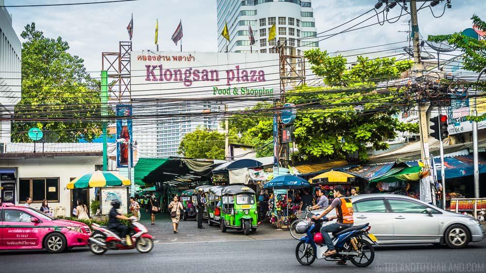 24 Hours in Bangkok: Shop and eat at Klongsan Plaza