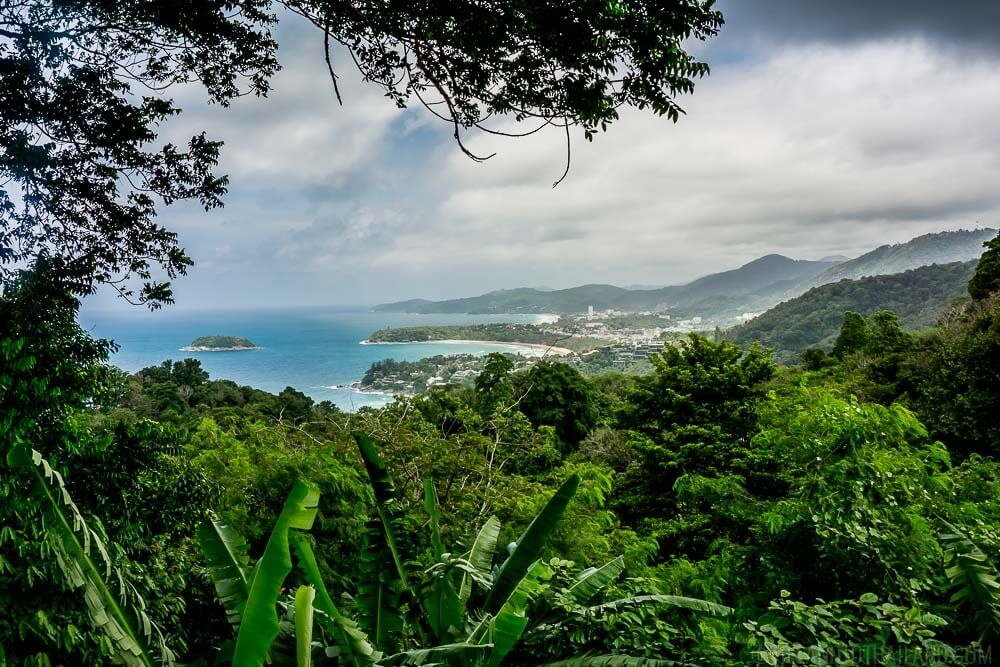 Karon Viewpoint in Phuket, Thailand