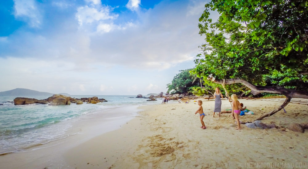 Quiet Laem Ka Beach Phuket