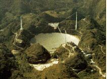 Radiotelescopio de Arecibo.