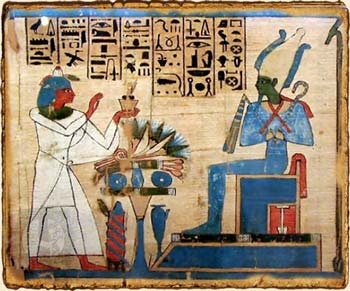 Mitología Egipcia - Osiris en el Libro de los Muertos
