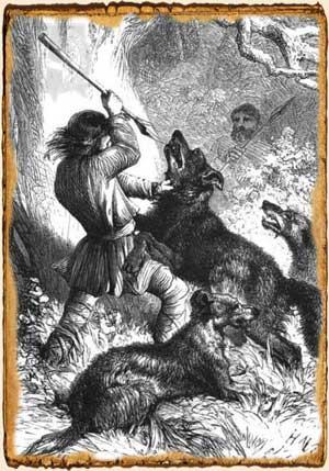 Relatos de fantasía - Muerte épica hombre lobo