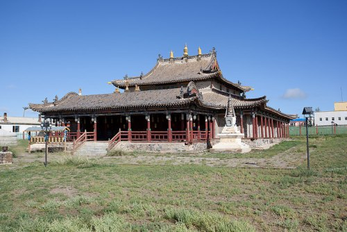 monasterio mongolia