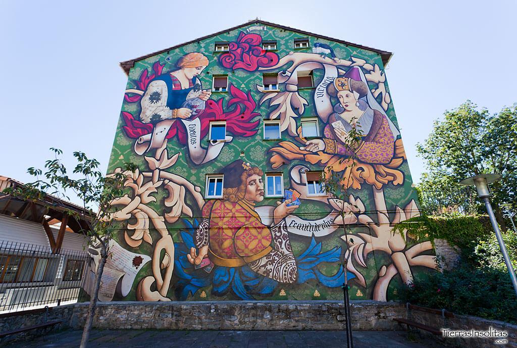 Murales de vitoria gasteiz una ruta por la ciudad pintada for Ciudad jardin vitoria