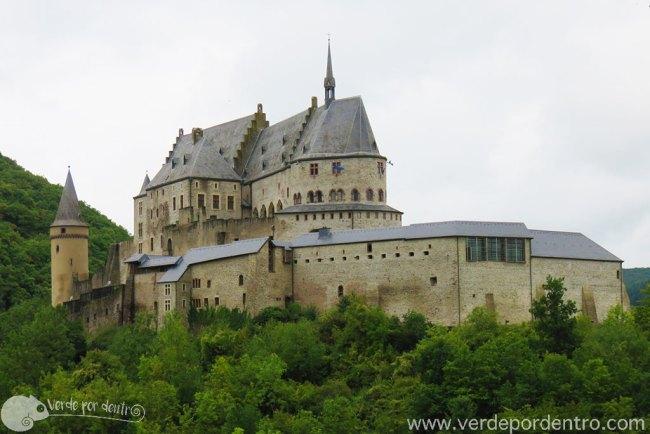 castillo de vianden luxemburgo