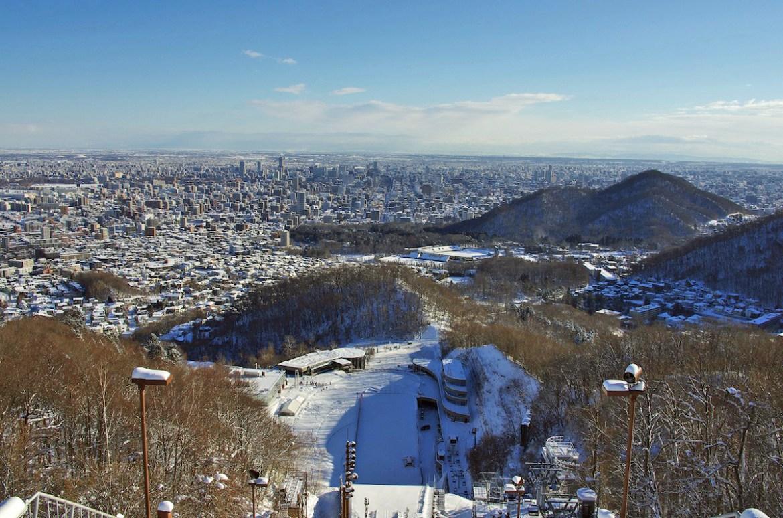 Okurayama_View_Winter_Daytime