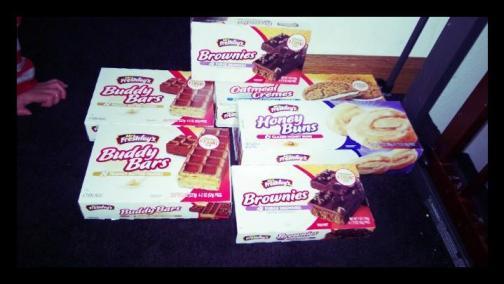 Mrs. Freshley's pastry snacks