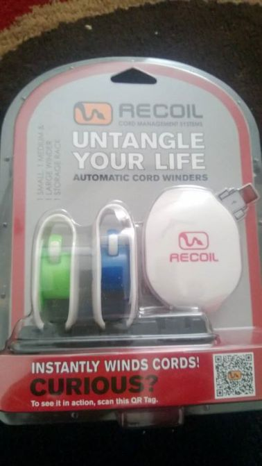 Recoil Cord Winders