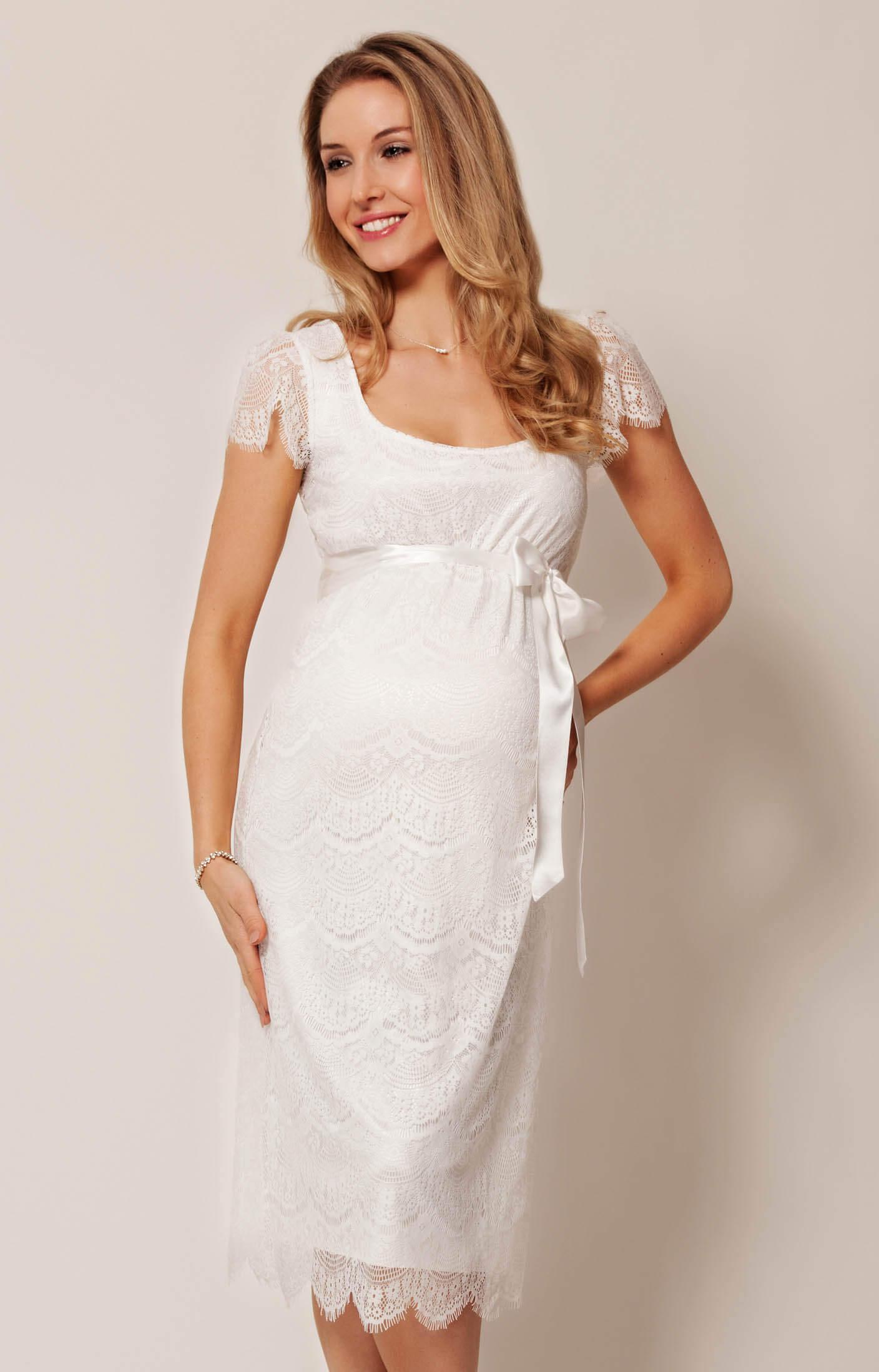 Flutter Maternity Dress Ivory maternity dresses for wedding Flutter Maternity Dress Ivory by Tiffany Rose