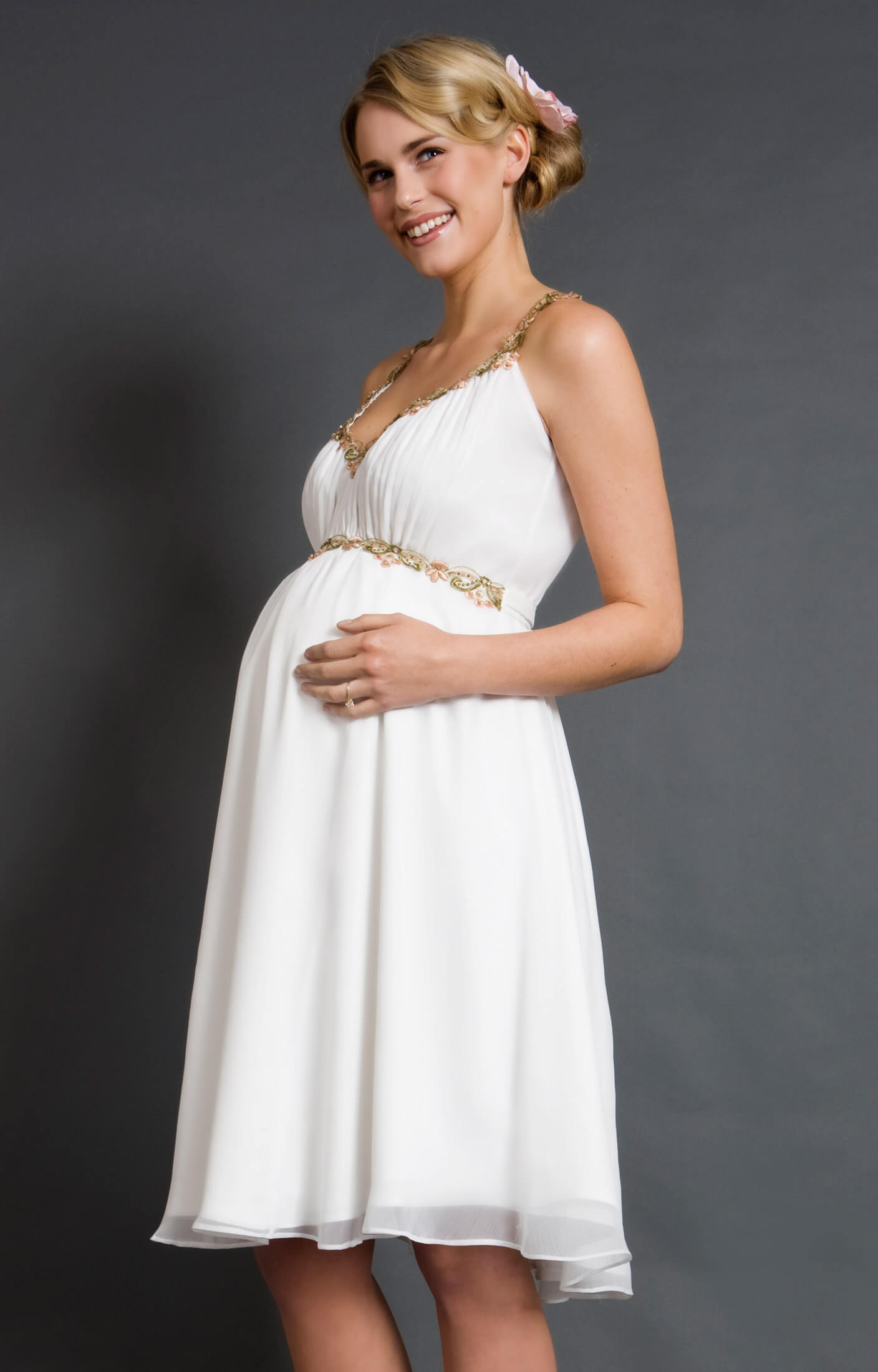 Grecian Maternity Dress greek goddess wedding dress Grecian Maternity Dress by Tiffany Rose