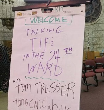 24th ward welcome sign