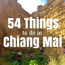 fun things to do in chiang mai
