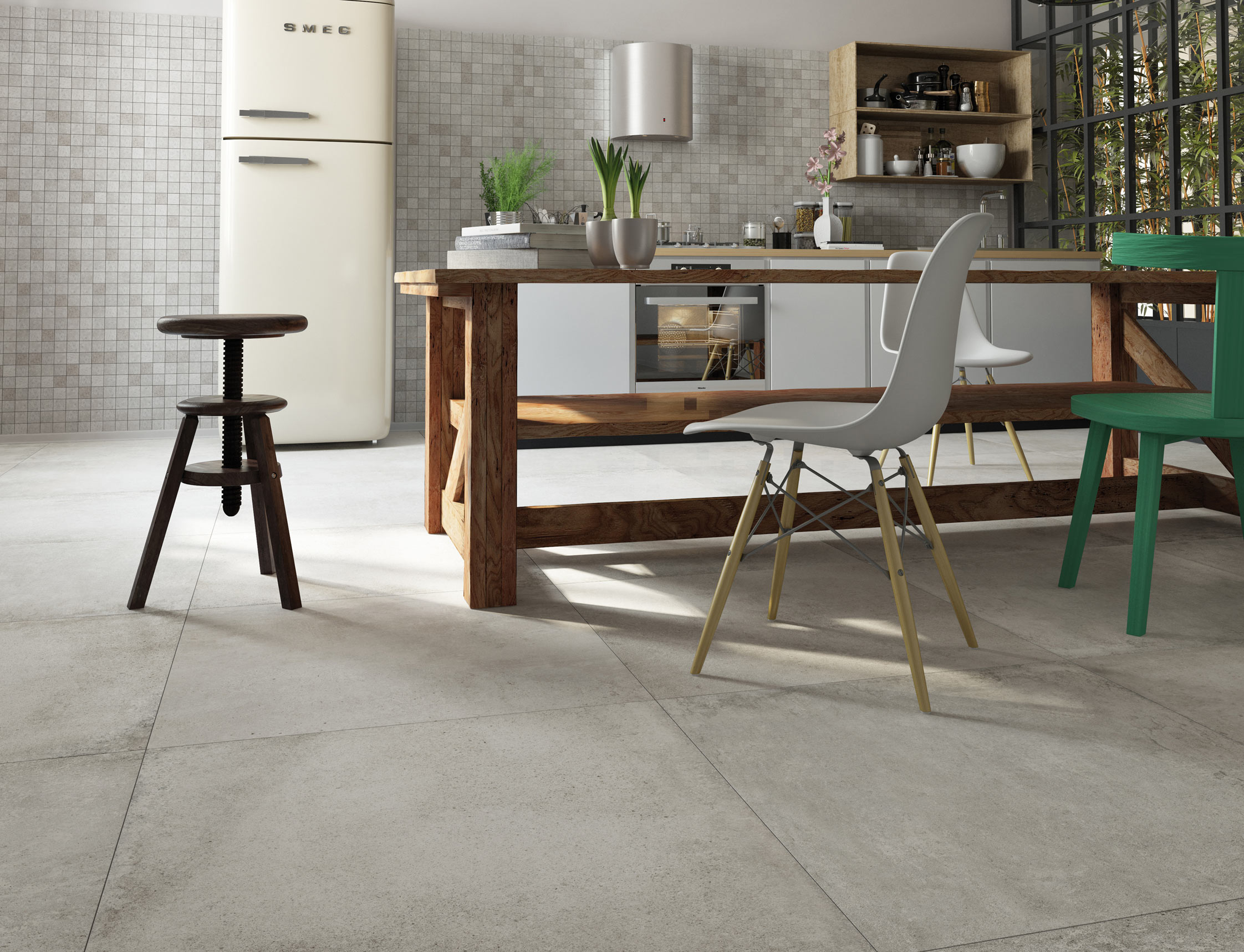 get creative with concrete and stone effect tiles san gimignano concrete kitchen floor san gimignano stone effect floor tiles
