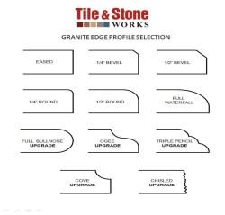 Small Of Granite Edge Profiles