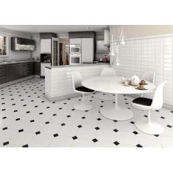 Small Crop Of Black And White Floor Tile