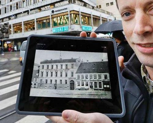 App - for gamle Oslobilder