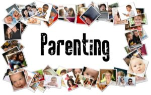 Parenting Then and Now - Photos as a Frame