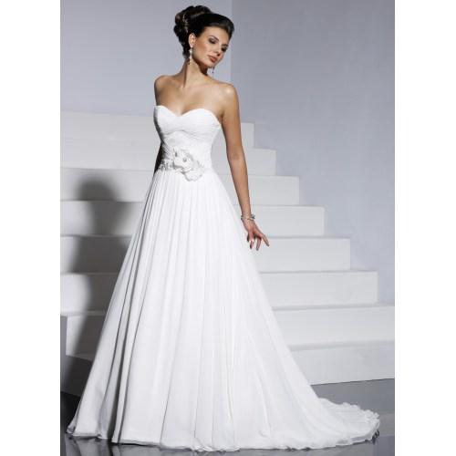 Medium Crop Of Aline Wedding Dress