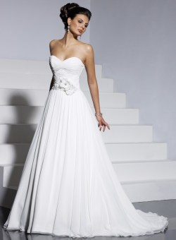 Small Of Aline Wedding Dress