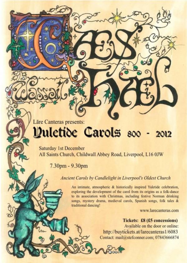 Concert Flyer Liverpool