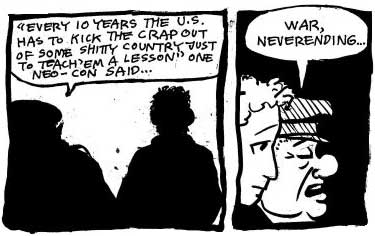 Panel from Colin's Gulf War Diary...