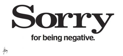 Evening Standard: Sorry for being negative