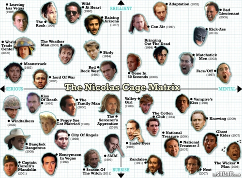 The Nicolas Cage Matrix