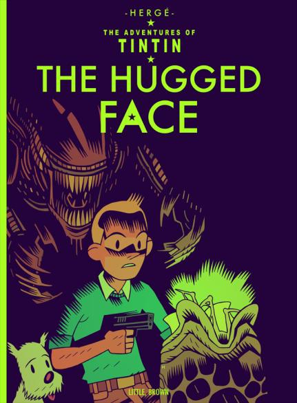 The Hugged Face - A Lost Tintin Book