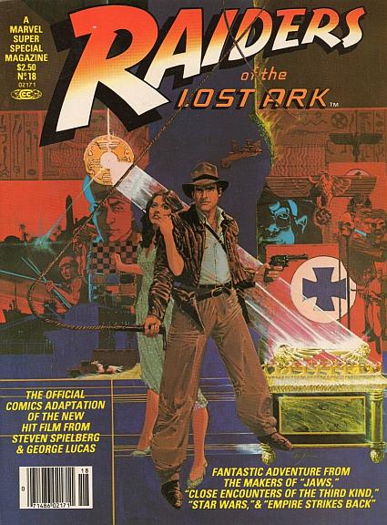 Raiders Of The Lost Ark Comic Cover