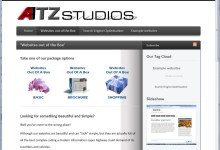 ATZ Studios, Website Design, Norfolk and Kings Lynn