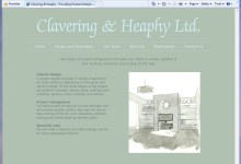 Clavering and Heaphy, Website Design, Norfolk and Kings Lynn