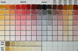 Relaxing Skin Tones A Bit Tim Gagnon Red Color Palette Zornp Making Color Palette Living Room Website Red Color Palette