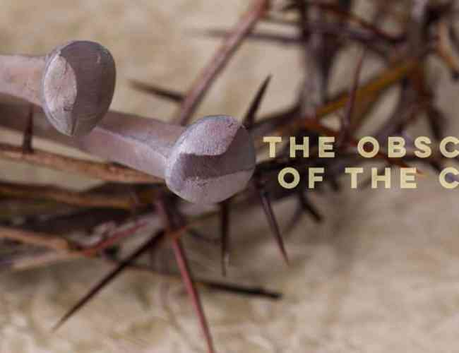 Apologetics: How the Obscenity of the Crucifixion Su…