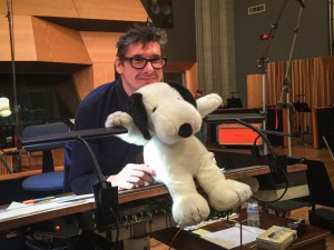 Tim and Snoopy at Fox