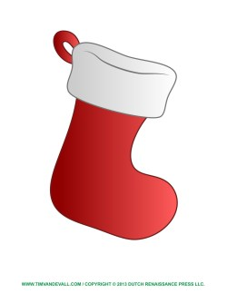 Small Of Christmas Stocking Template