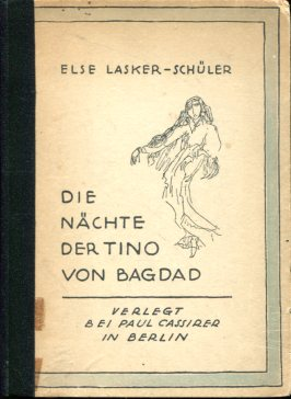 The nights of Tino from Bagdad by Else Lasker-Schüler