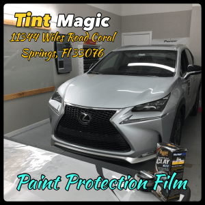 Lexus NX Paint Protection Film at Tint Magic Window Tint