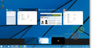 Windows 9 Multi desktop