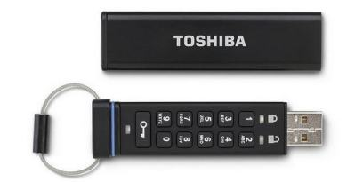 toshiba encrypted usb key 01