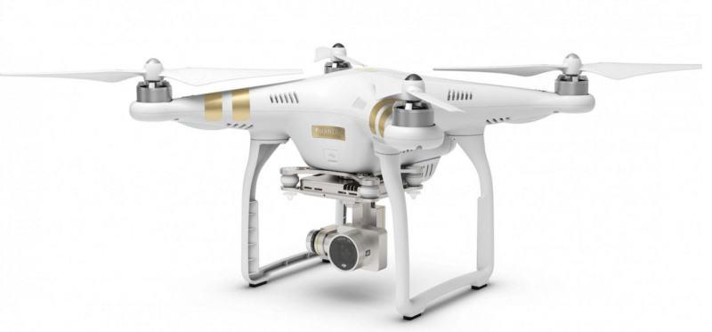 Le drone Phantom 3 abattu