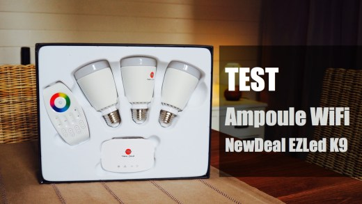 Test : Kit d'ampoules Wifi LED NewDeal EzLed K9