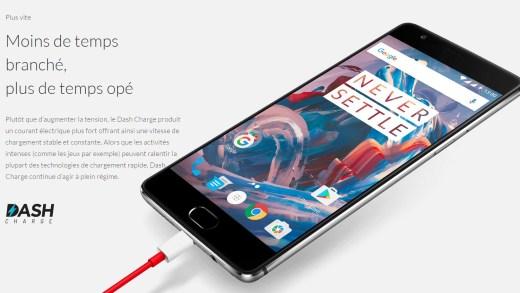 Le OnePlus 3 est disponible à 399€